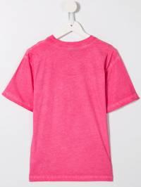 Moschino Kids - футболка с логотипом 609LAC66939663580000