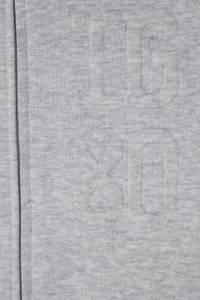 Серое хлопковое худи на молнии Il Gufo 1205124360