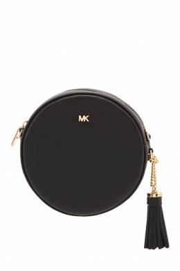 Круглая черная сумка Mercer MICHAEL Michael Kors 984124830