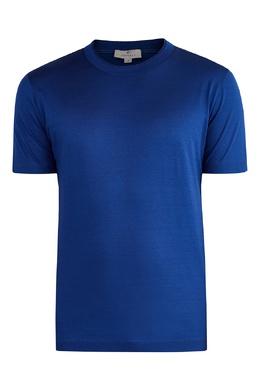 Синяя футболка Canali 1793126646