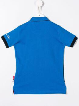 Harmont & Blaine Junior - рубашка-поло в стиле колор-блок JL665956005090000000