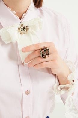 Кольцо GG с разноцветными кристаллами Gucci 470127310