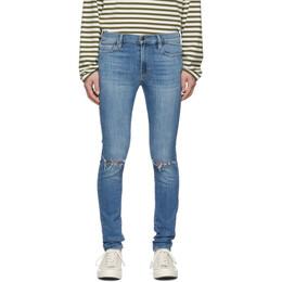 Frame Blue Jagger True Skinny Jeans 192455M18600406GB