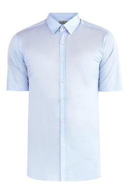 Рубашка голубого цвета Canali 1793126718