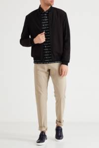 Черные кожаные кеды с логотипом Emporio Armani 2706126951