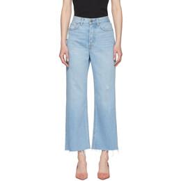 Grlfrnd Blue Bobbi Jeans 192966F06900606GB