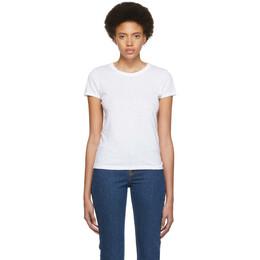 Rag&Bone White The Tee T-Shirt 192055F11001605GB
