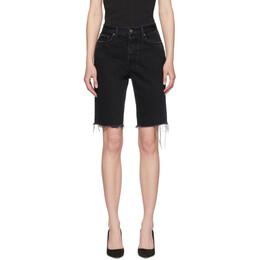 Grlfrnd Black Denim Beverly Shorts 192966F08800509GB
