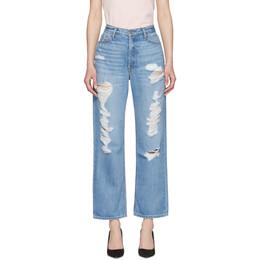Grlfrnd Blue Rhea Jeans 192966F06900402GB