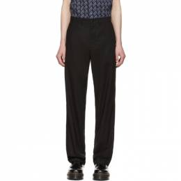 MCQ by Alexander McQueen Black Skater Trousers 192114M19100304GB