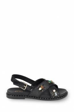 Черные сандалии с отделкой Ash 6128859