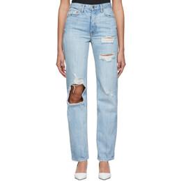 Grlfrnd Blue Mica Jeans 192966F06900704GB