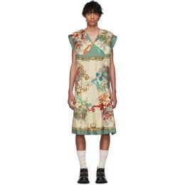 Gucci Off-White and Multicolor Roi Soleil Print Shirt 569911 ZABL9
