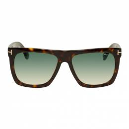 Tom Ford Tortoiseshell Morgan Sunglasses 192076M13400801GB