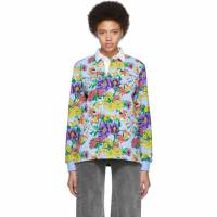 Noah Nyc Multicolor Floral Rugby Polo 191876F10800202GB