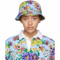 Noah Nyc Multicolor Floral Rugby Bucket Hat 191876F01500202GB