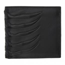 Alexander McQueen Black Rib Cage Wallet 550833ASO0O
