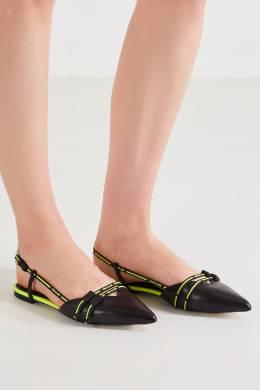 Туфли с контрастной отделкой Ash 6128641