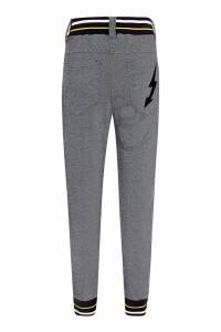 Серые брюки с контрастной отделкой Givenchy Kids 2893130319