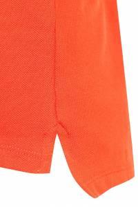 Оранжевое поло с контрастным воротником Gucci Kids 1256130199