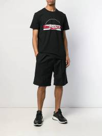 Roberto Cavalli - футболка с логотипом и круглым вырезом 03TJV605956559880000