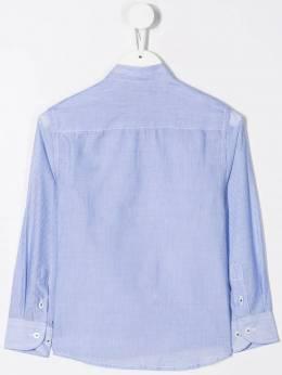 Harmont & Blaine Junior - полосатая рубашка с вышитым логотипом JC663956633960000000