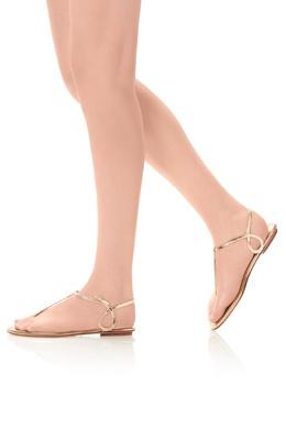 Золотистые сандалии Almost Bare Aquazzura 975130697