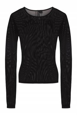 Черная сетчатая блузка Y-3 1044131094