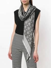 MCM - шарф с принтом 3AMM6990905096000000