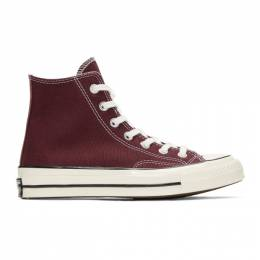 Converse Burgundy Chuck 70 High Sneakers 192799M23600314GB