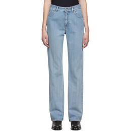 Mm6 Maison Margiela Blue Five-Pocket Jeans 192188F06900305GB