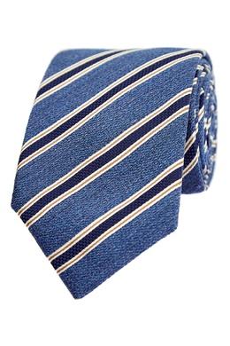 Фактурный галстук в полоску Canali 1793126703