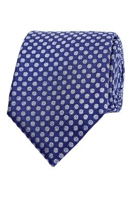 Синий галстук в горошек Canali 1793126699