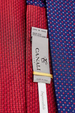 Двойной галстук Canali 1793126700