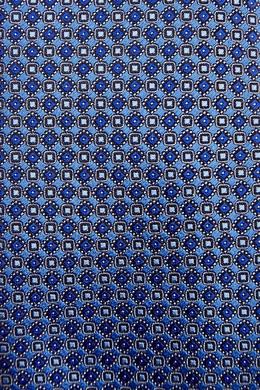 Сине-бирюзовый галстук Canali 1793126692