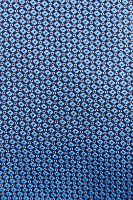 Голубой галстук с узором Canali 1793126689