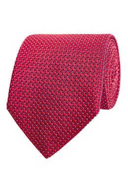 Галстук красного цвета Canali 1793126685