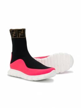 Fendi Kids slip-on sock-style trainers JMR289A8CL
