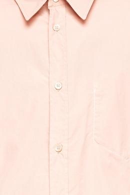 Бежевая рубашка на пуговицах с карманом Maison Margiela 1350133956