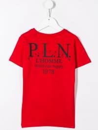 Philipp Plein Junior - футболка с логотипом CBTK6339PJY660N95696