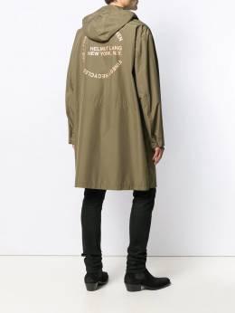 Helmut Lang - плащ со съемным капюшоном HM563959605360000000
