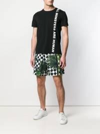 Just Cavalli - футболка с принтом слогана GC6506N0666393669993
