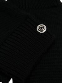 Rick Owens - перчатки с кнопками 9F5590M9599303500000