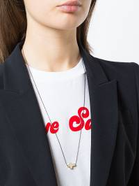 Hues - Mini Side Cross pendant necklace ISIDECROSSNECKLACEGO