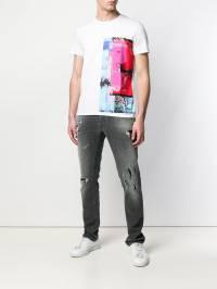 Just Cavalli - футболка с графичным принтом GC6590N0666393669983
