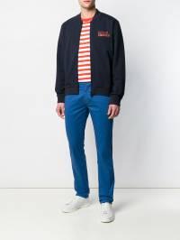 Karl Lagerfeld - куртка-бомбер на молнии 69359996095668596000