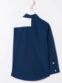Marni Kids - рубашка в двух тонах 06QM66ES959050580000