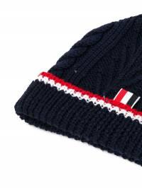 Thom Browne - шапка тонкой вязки с косами 608A6669593535553000
