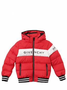 Куртка Из Нейлона С Логотипом Givenchy 70IOFL004-OTkx0