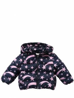Пуховик Из Нейлона С Принтом Stella McCartney Kids 70I6SG001-NDA5OA2